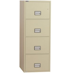 4-Drawer Vertical Fire File, 31