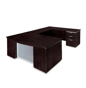 DMI Pimlico Right Bow-Front U-Desk