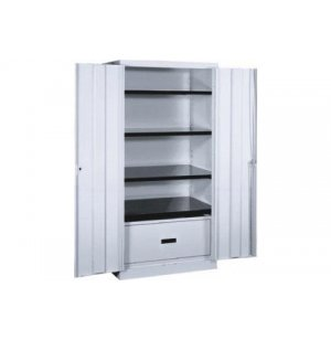 Stationary Lateral File Storage Cabinet