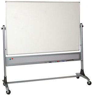 Platinum Porcelain Reversible Whiteboard