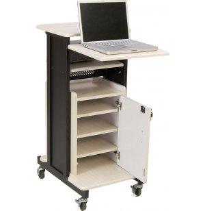 Deluxe AV Presentation Cart