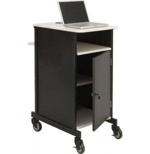 Jumbo AV Presentation Cart