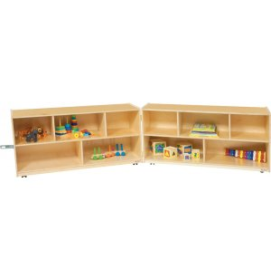 Fold n Lock Storage with 10 Compartments