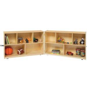 Fold n' Lock Classroom Storage - 10 Cubbies