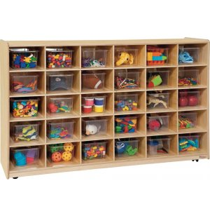 30-Tray Storage with Clear Trays