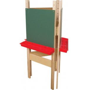3-Way Adjustable Easel with Chalkboard Surface