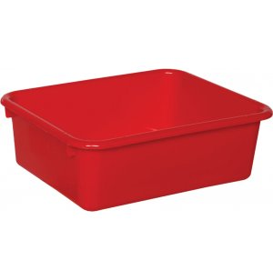 Rectangular Colored Cubby Bin