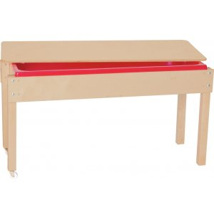 Large Wooden Sand and Water Table with Lid