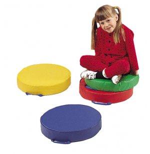 Round Floor Cushions Set of 4