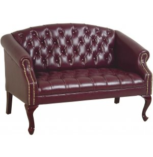 Queen Anne Traditional Love Seat