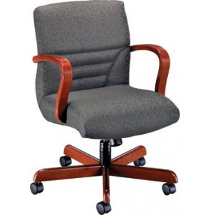 Quicksilver Management Swivel Office Chair