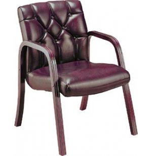 Quicksilver Tufted Side Chair