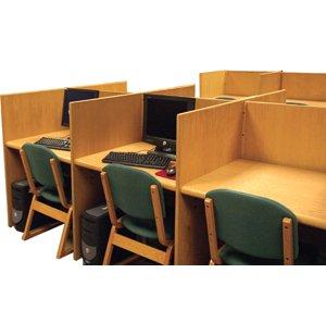 Panel Based Double Faced Carrel, Adder