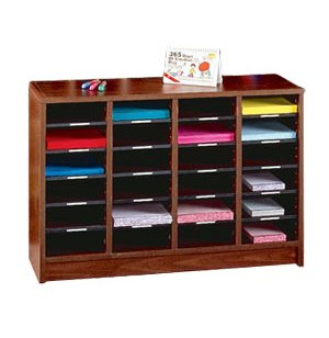36 Compartment Radius Edge Literature Organizer