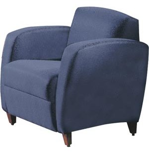 Accompany Lounge Chair with Center Arms