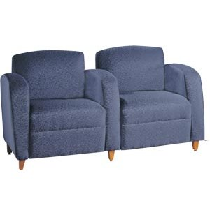 Accompany Reception Sofa - 2 Seats, Center Arms