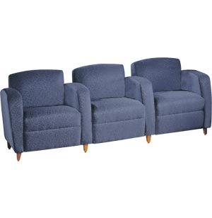 Accompany Reception Sofa - 3 Seats, Center Arms