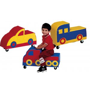 Kids Soft Play Ride On Toys - Set of 3