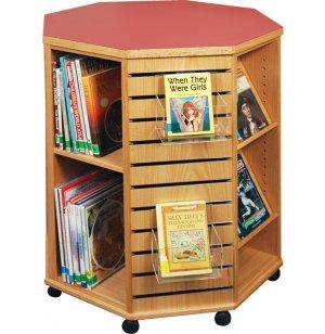 Mobile Octagonal Book Display