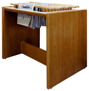 Panel Based Horizontal Newspaper Rack