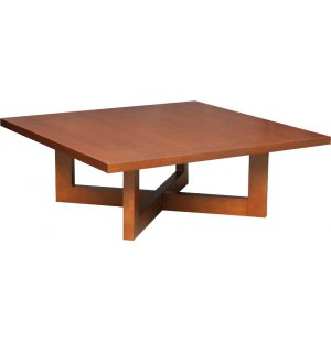 Chloe Solid Wood Square Coffee Table