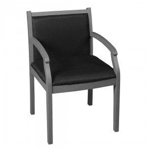 Regency Vinyl Guest Chair