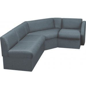 Rotunda 4-piece Fully Upholstered Reception