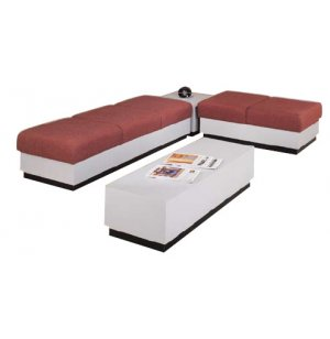 Rotunda Reception Furniture - Plinth Base, 4 Piece Set