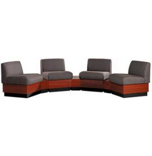 Rotunda 7-piece Reception Furniture - Plinth Base