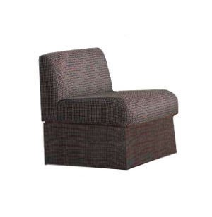 Rotunda Reception Chair - Fully Upholstered