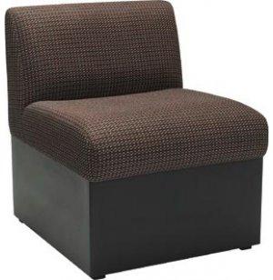 Rotunda Reception Seat with Black Base
