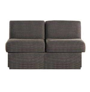 Rotunda Reception Loveseat - Fully Upholstered