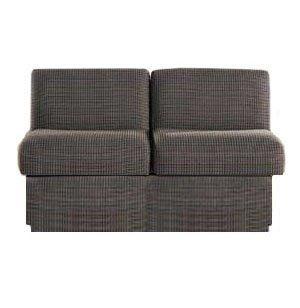 Rotunda Reception Loveseat - Fully Upholstered, Grade 3
