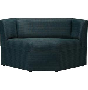 Rotunda Corner Reception Chair - Fully Upholstered, 90 Deg.