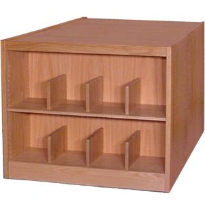 Book Shelving - 4 Shelf Double Faced Starter