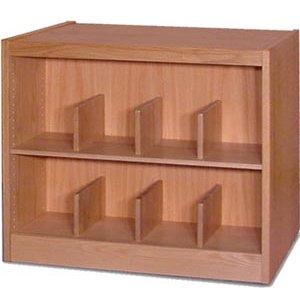 Book Shelving - 2 Shelf Single Faced Starter