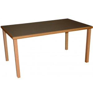 Providence Six Person Reading Table