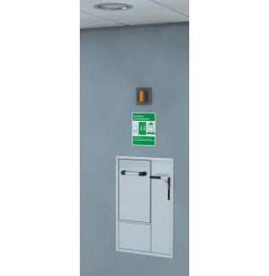 ADA Safety Station Recessed