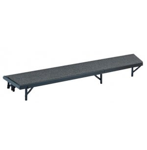 Standing Choral Riser, Tapered, Carpeted