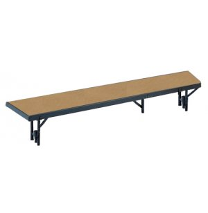 Standing Choir Riser - Tapered, Hardboard, 16