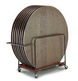 Table Cart for Round Tables- up to 6'