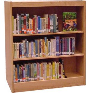 Echelon Modular Wood Library Shelving - Starter