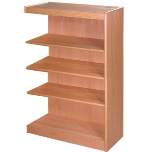 Echelon Modular Wood Library Shelving - Adder