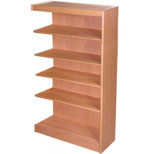 Echelon Modular Wood Library Shelving - Adder