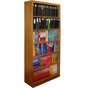 Echelon Modular Wood Library Shelving - Starter