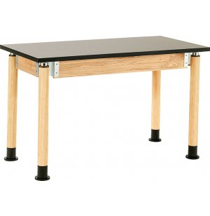 Adjustable Lab Table with Chem-Res Top