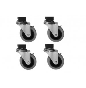 Locking Casters for NPS Lab Tables - Set of 4