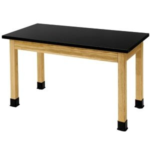 Science Lab Table with Chem-Res Laminate Top