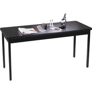 Science Lab Table with Steel Legs and HPL Top