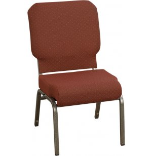 Roll-Front Church Chair